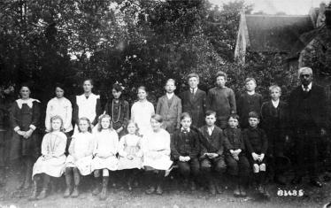 Another picture of Aston Abbotts' village school - this time dating from around 1910